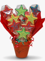 Stars biscuit bouquet