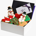 Christmas biscuit box