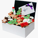 Christmas Festive biscuit box