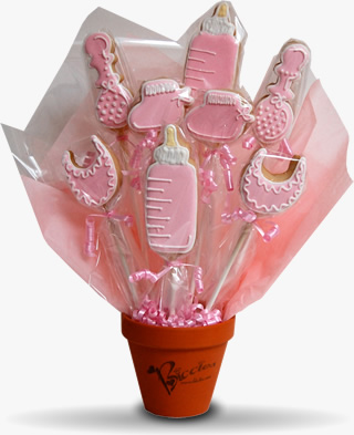 Baby Girl Biccies Bouquet