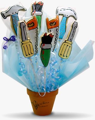 Fathers Day Biccies Bouquet