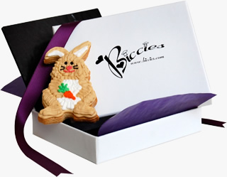 Easter Bunny Biccies Single