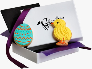 Easter Egg & Chick Biccies Single