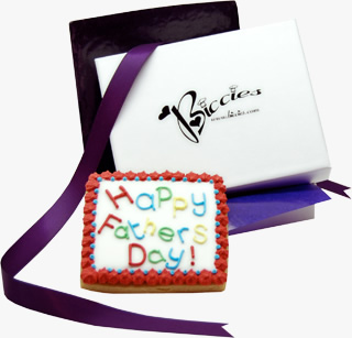 Father's Day Biccies Single