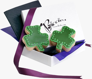 St. Patrick's Day Biccies Single